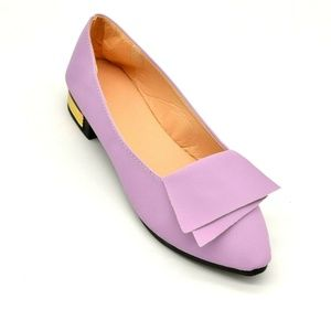 Womans Slip On Ballet Flats EUR 39 Pointed Toe New